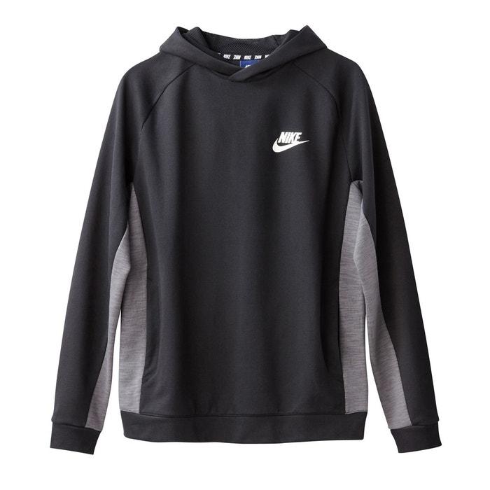 Sweat fermé à capuche noir Nike   La Redoute 4c71efcaa4b7