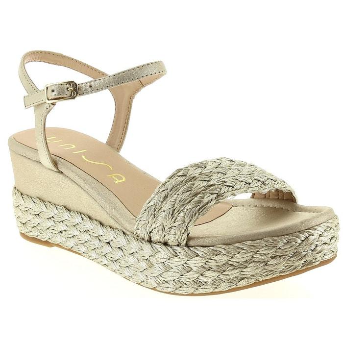 Sandales et nu-pieds unisa katia  platine Unisa  La Redoute