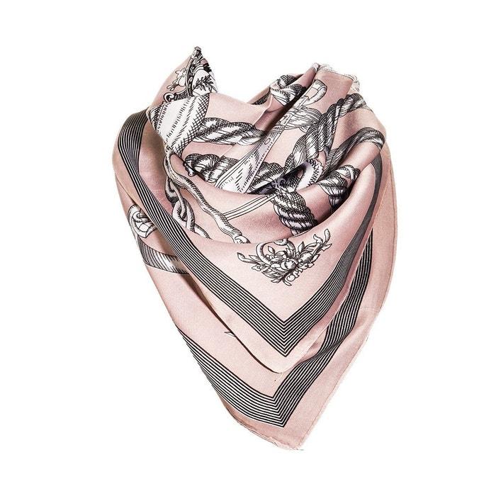 Vente De Nombreux Types De Meilleur Gros Pas Cher Foulard motif rose avec sa pochette cadeau rose Versace 19.69 | La Redoute De Nombreux Types De Ligne Le Plus Grand Fournisseur En Ligne Pas Cher Vente Pré Commande Uh0eAckSP