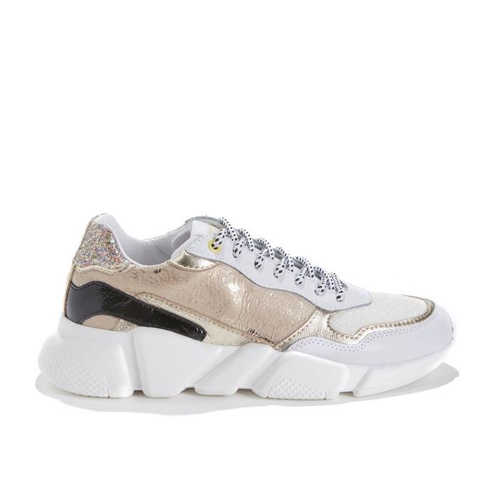 2d43598587 Sneakers à large semelle oregon or Serafini   La Redoute