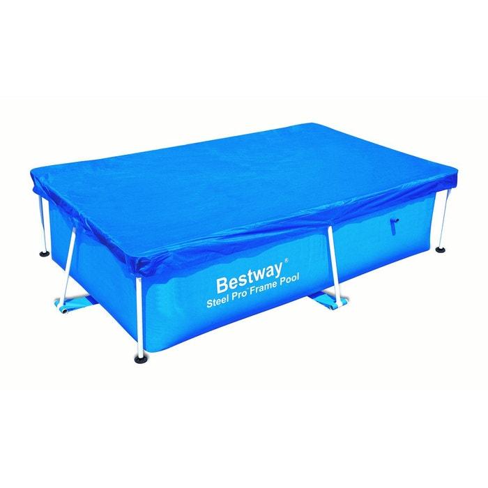 b che piscine 4 saisons pour piscine frame pool rectangulaire 239x150 cm bestway couleur unique. Black Bedroom Furniture Sets. Home Design Ideas