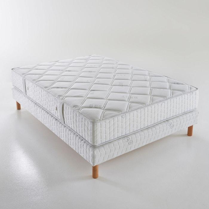 matelas ressorts ensach s confort ferme 3 zones blanc reverie la redoute. Black Bedroom Furniture Sets. Home Design Ideas