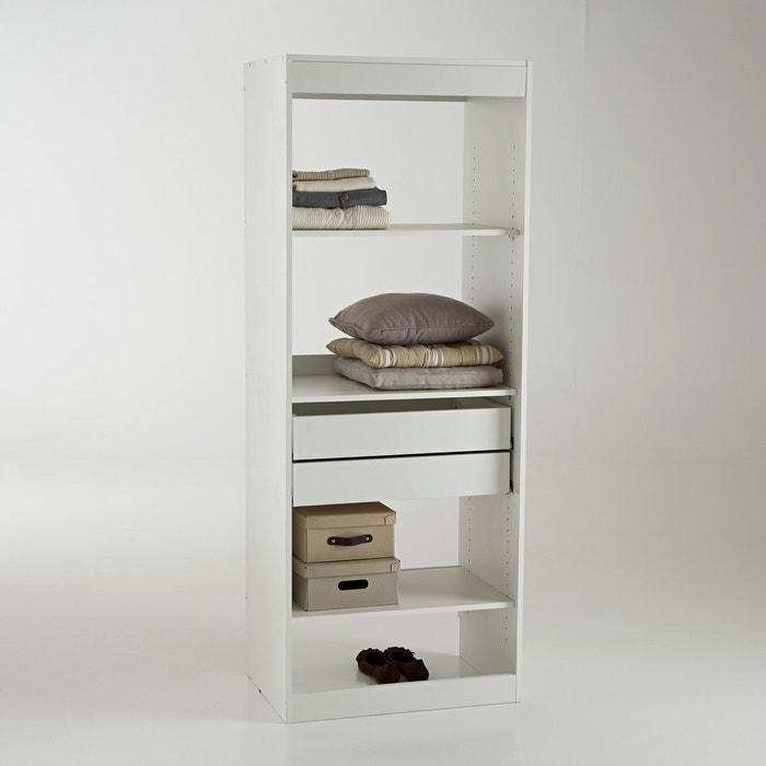 dressing module 3 legplanken en 2 lades build les petits. Black Bedroom Furniture Sets. Home Design Ideas