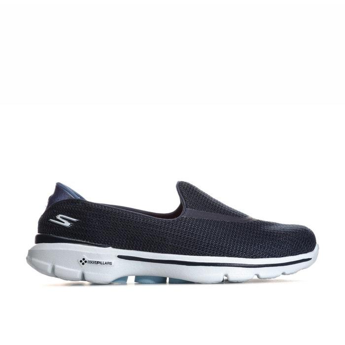 SkechersLa Bleu Chaussures 3 Go Walk Redoute odxCBe