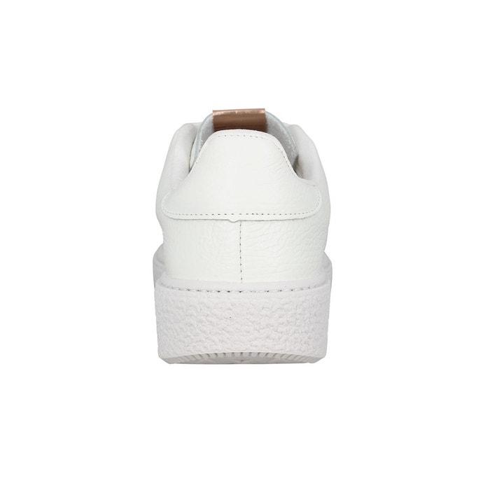 Baskets femme victoria 26214 cuir femme blanc blanc Victoria