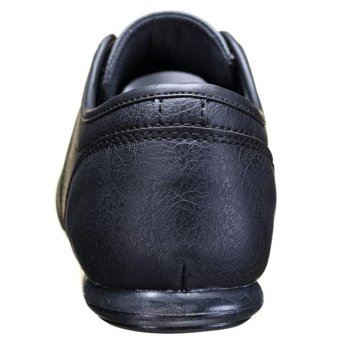 Basket basses à lacets noir Goor