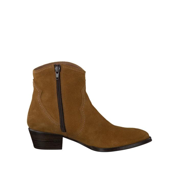 Image Boots cuir façon santiag 25354-37 TAMARIS