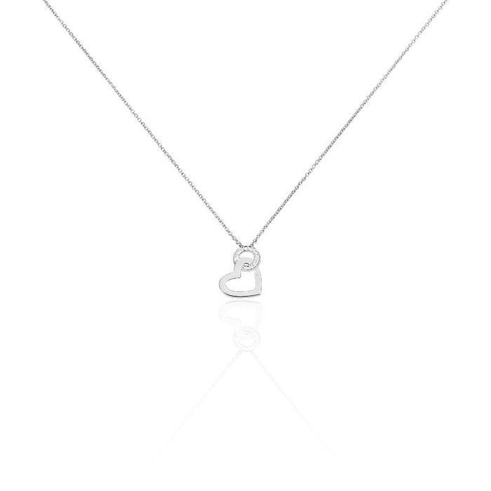 Acheter Pas Cher Véritable Collier emeline or blanc diamant blanc Histoire D'or | La Redoute À Vendre La Vente En Ligne EqiPTGx