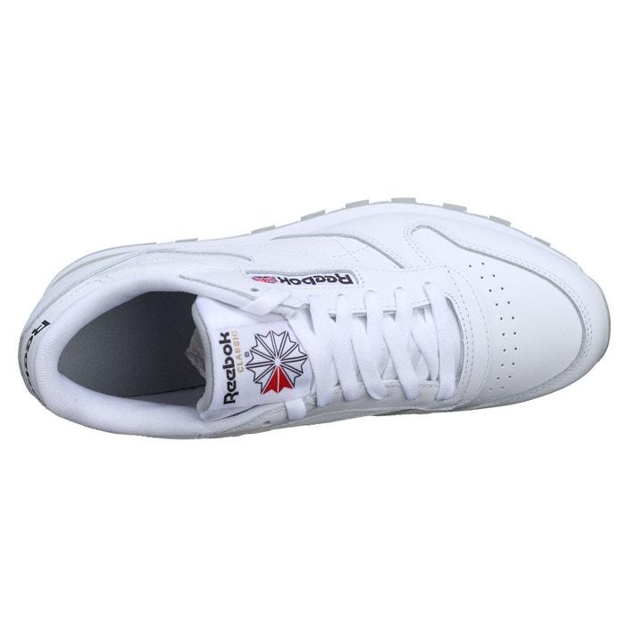 Baskets classic leather blanc Reebok