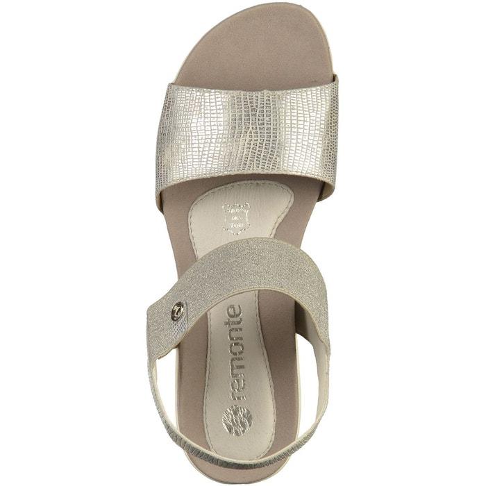 Sandales argenté Remonte