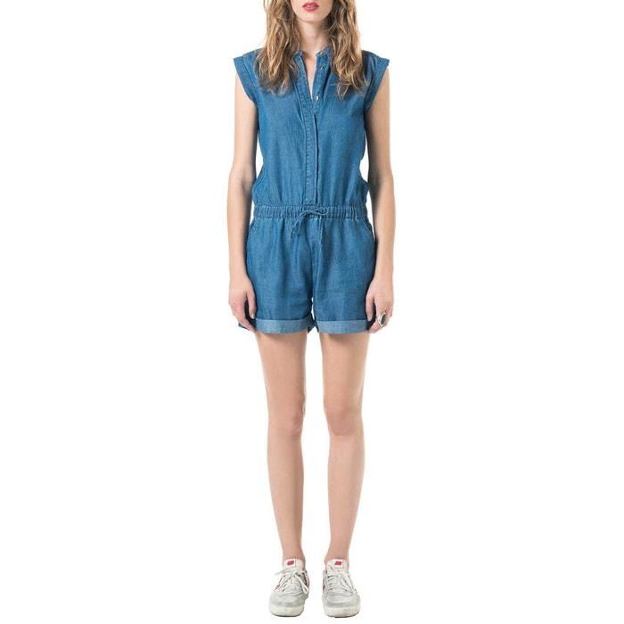 Image Tuta-shorts in denim BEST MOUNTAIN