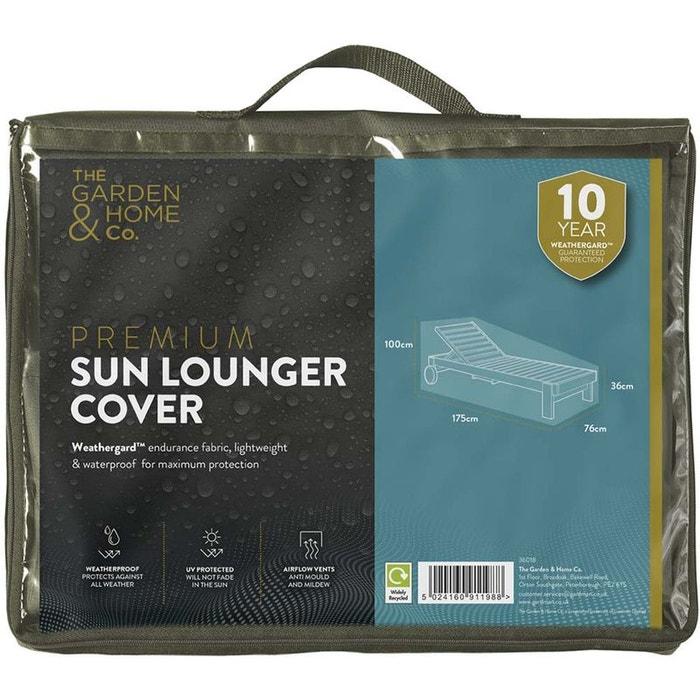 housse de bain de soleil 175 cm vert gardman la redoute. Black Bedroom Furniture Sets. Home Design Ideas