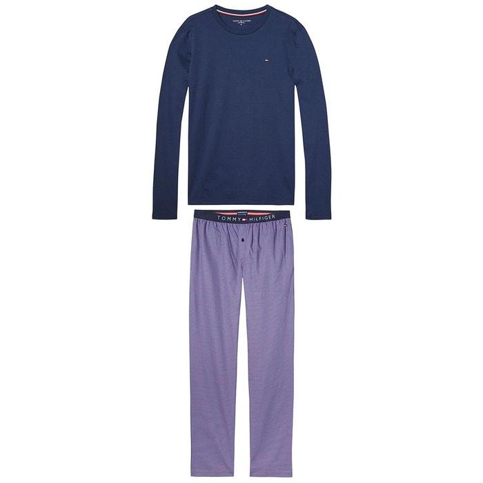 Pyjama manches longues, bas imprimé