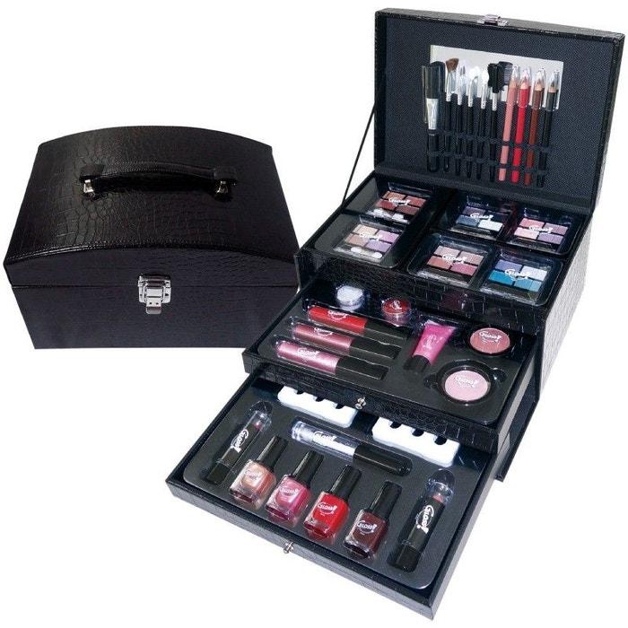 coffret cadeau mallette de maquillage premium stylish essential 57pcs gloss la redoute. Black Bedroom Furniture Sets. Home Design Ideas