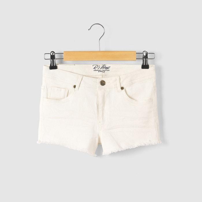 Image Coloured Stretch Twill Shorts, 10-16 Years R essentiel