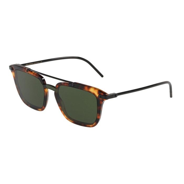 Lunettes de soleil dg4327 marron glacé Dolce Gabbana   La Redoute fe226f25c99a