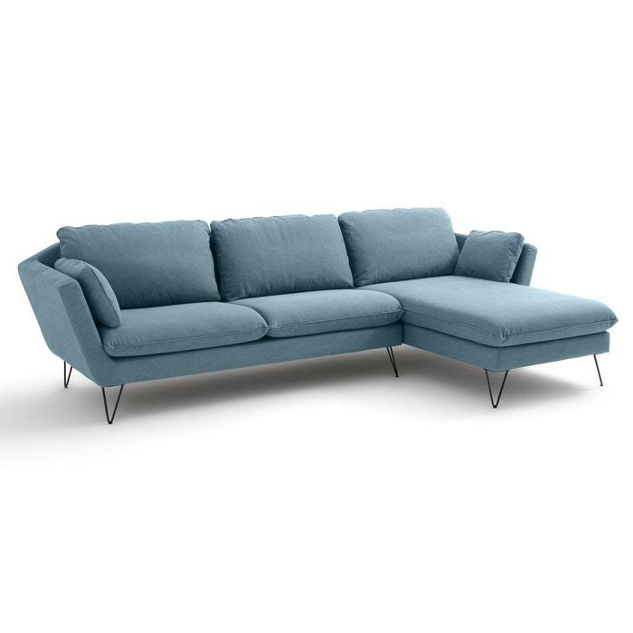 canap d angle coton d 39 angle fixe bristal la redoute. Black Bedroom Furniture Sets. Home Design Ideas