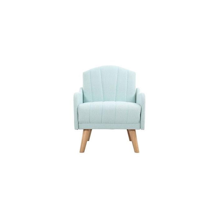 fauteuil design arya fauteuil vert d 39 eau miliboo la redoute. Black Bedroom Furniture Sets. Home Design Ideas