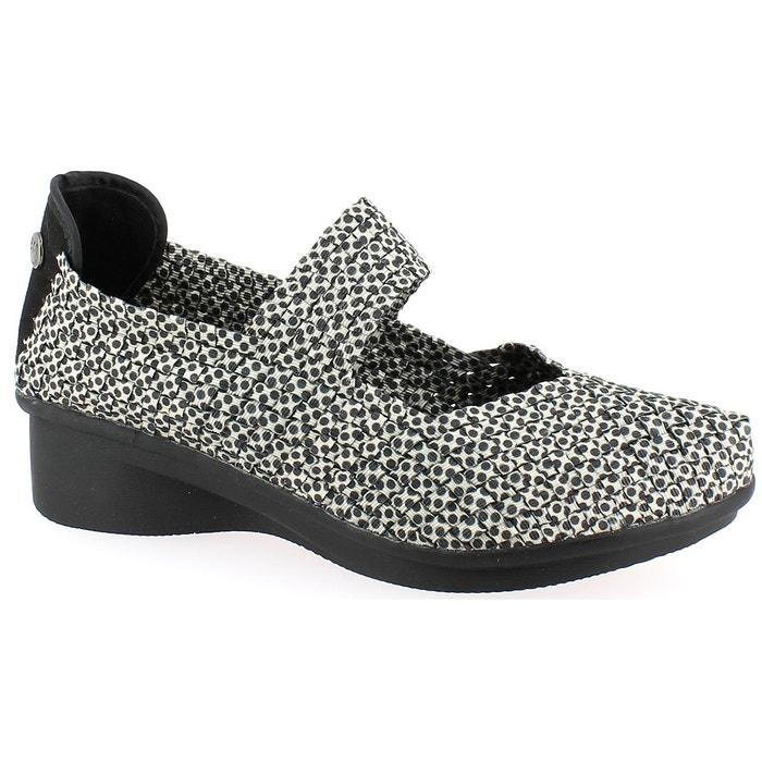 Sandales et nu-pieds bernie mev charm blanc/noir Bernie Mev