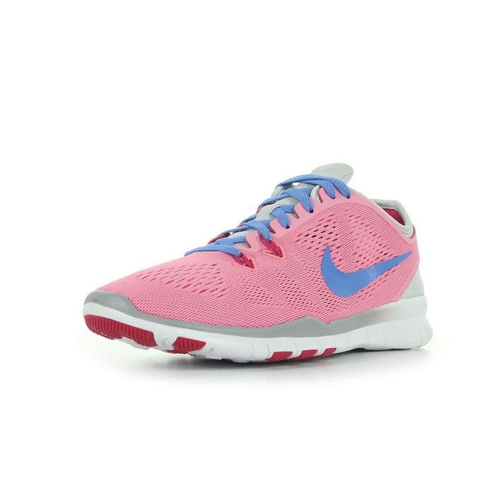 Free 5.0 tr fit 5  rose bleu gris et blanc Nike  La Redoute