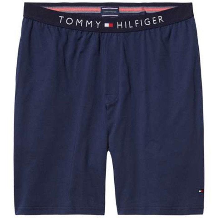 Short de pyjama bleu marine Tommy Hilfiger   La Redoute f9228b0483a
