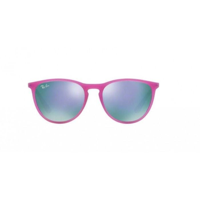 2814e585dd Lunettes de soleil pour enfant ray ban violet rj 9060s 70084v 50/15 violet  Ray-Ban | La Redoute