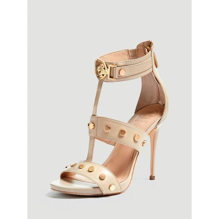 Redoute Sandale Veritable Cuir Tiffy GuessLa jR54AL