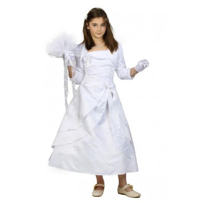 robe de c r monie de couleur blanche pour fille blanc. Black Bedroom Furniture Sets. Home Design Ideas