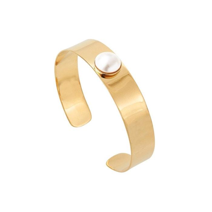 Jeu Exclusif Prise Avec Mastercard Manchette dorée creamrose pearl minimal multicolore Caroline Najman | La Redoute l18pl3P3