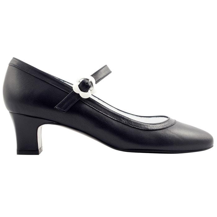 Exclusif Paris Escarpins Soprano Bleu marine - Chaussures Escarpins Femme