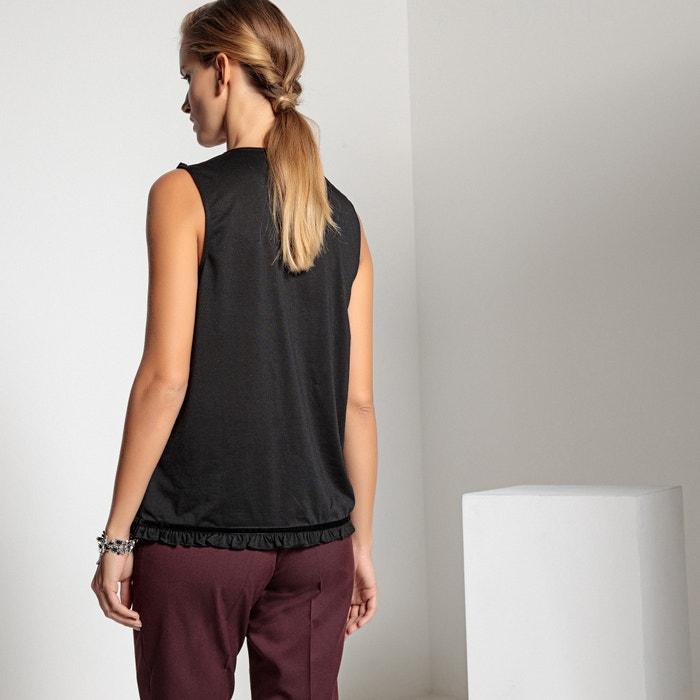 ANNE WEYBURN Camiseta sin mangas de encaje x1drwqxFO