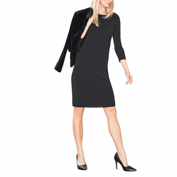 afbeelding Rechte jurk met 3/4 mouwen ESPRIT