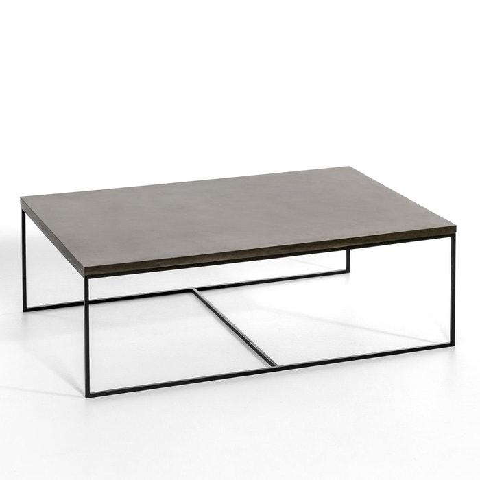 table basse auralda grande taille gris stone am pm la. Black Bedroom Furniture Sets. Home Design Ideas