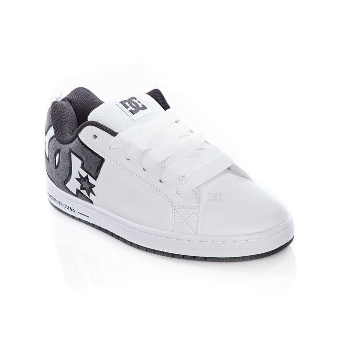 blanc Redoute Chaussures graffik Dc se La court Shoes ttwazT