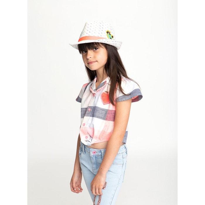Billieblush Chapeau de Paille avec Sequins Enfant