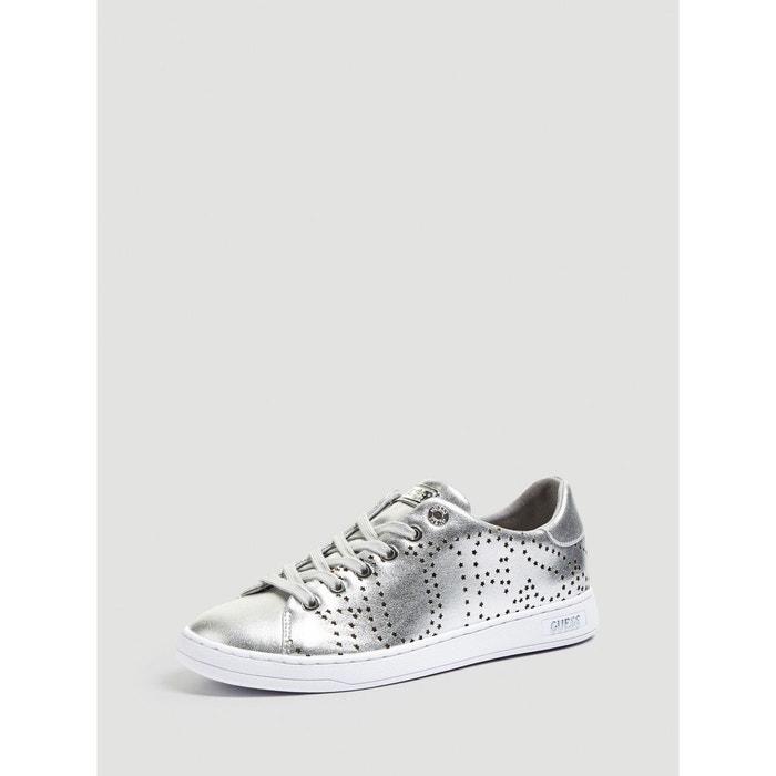 Effet Redoute Carterr Silver Sneaker La Lame Guess Aq54w1Axf8