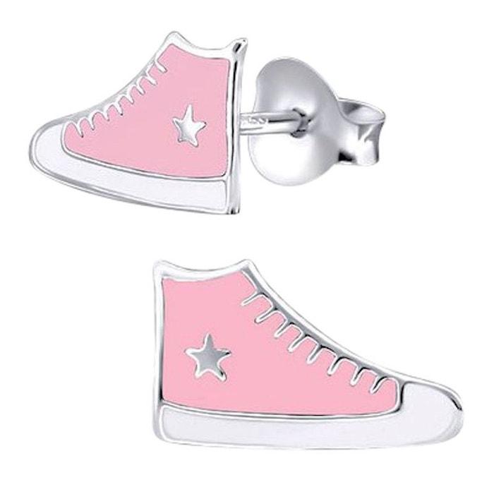 925 So Chaussure Converse Boucles Rose Chic Basket Argent D'oreilles 0OqYwHgF