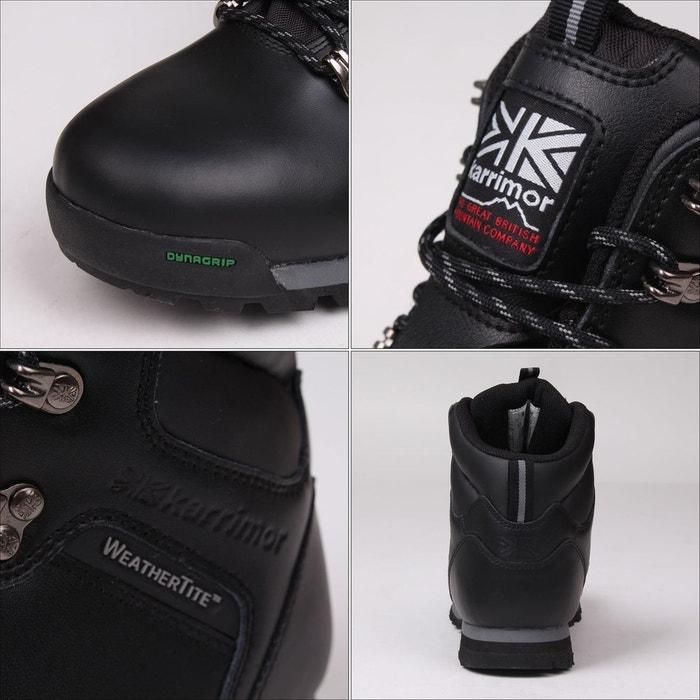 Bottes de marche imperméables randonné noir Karrimor