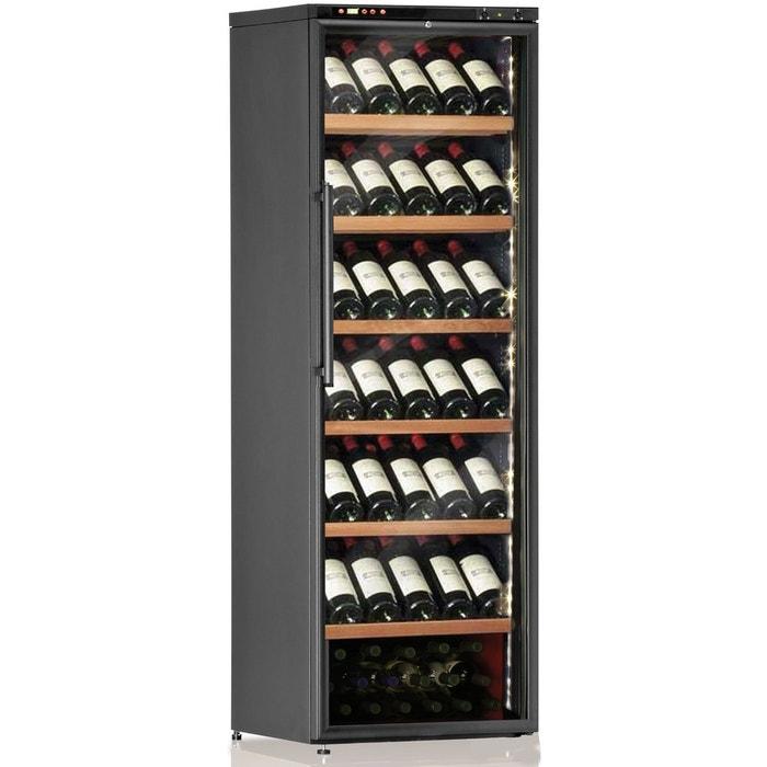 cave vin de service 1 temp 108 bouteilles noir aci cal208p couleur unique calice la. Black Bedroom Furniture Sets. Home Design Ideas