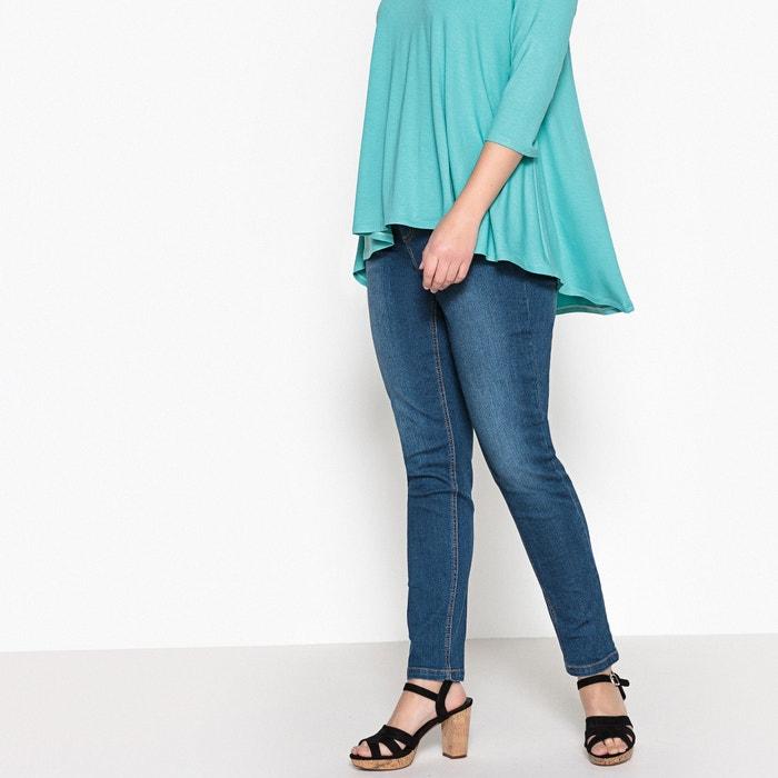 """afbeelding Stretch slim jeans """"weelderige rondingen"""" binnenpijplengte 78 cm CASTALUNA"""