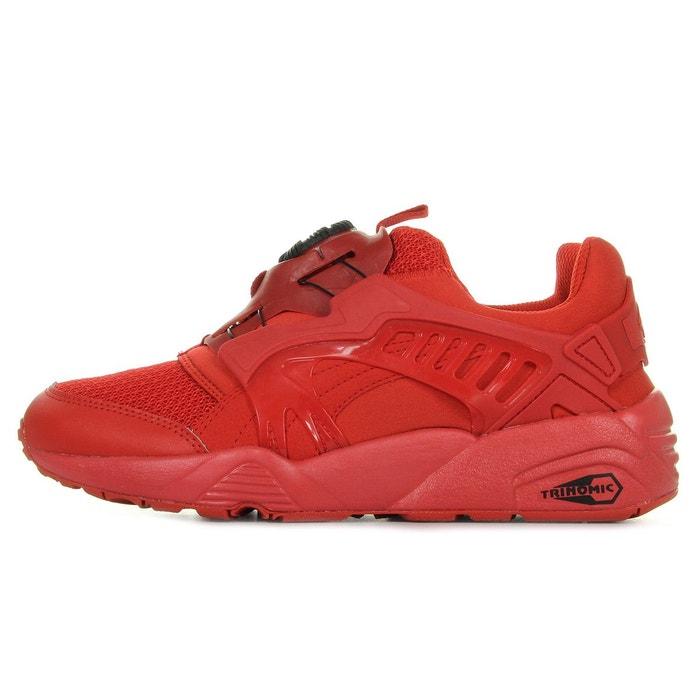 puma disc rouge