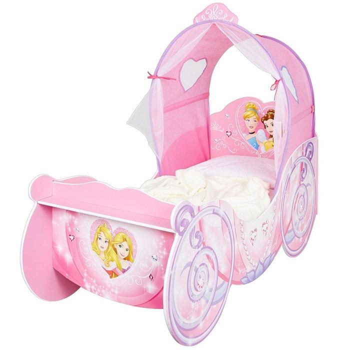 Lit carrosse l gende princesse disney rose character world - Tour de lit princesse disney ...