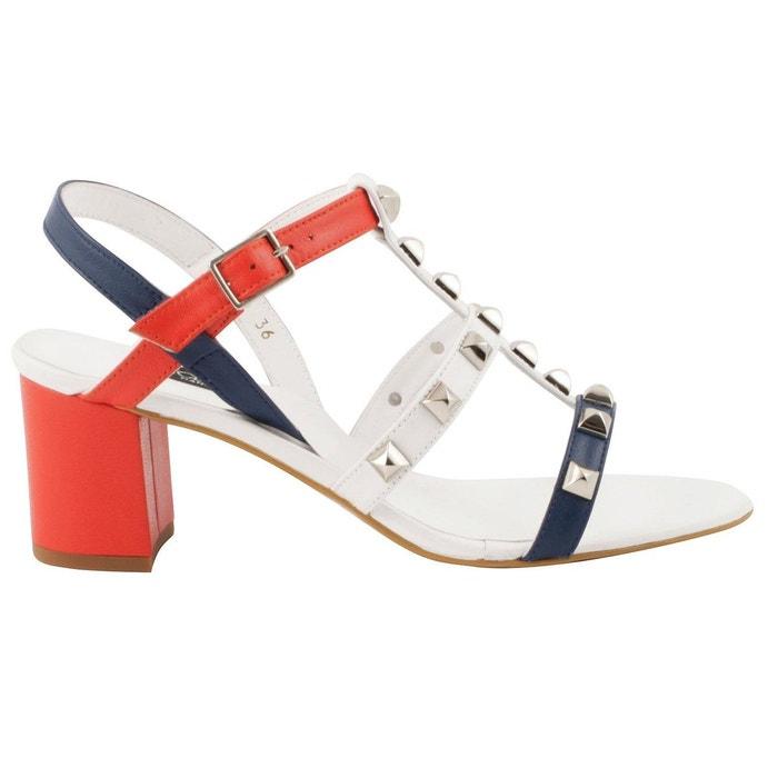 Sandales berenice  blanc Exclusif Paris  La Redoute