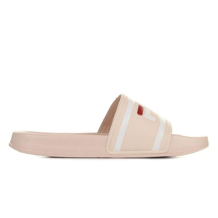 Sandales femme morro bay slipper rose beige Fila
