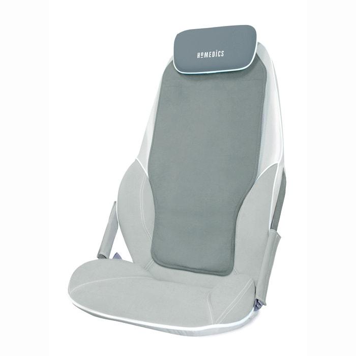 si ge massant shiatsu max bmcs 5000h homedics gris blanc. Black Bedroom Furniture Sets. Home Design Ideas