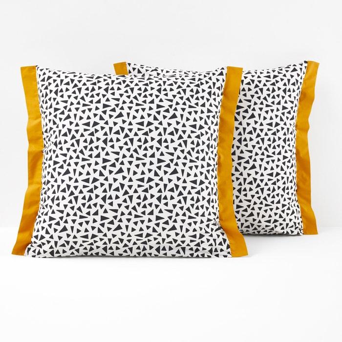 taie d oreiller en percale meteore la redoute interieurs la redoute. Black Bedroom Furniture Sets. Home Design Ideas