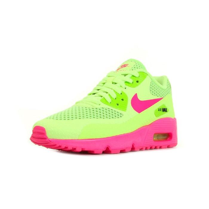 Basket air max 90 br junior jaune, rose Nike