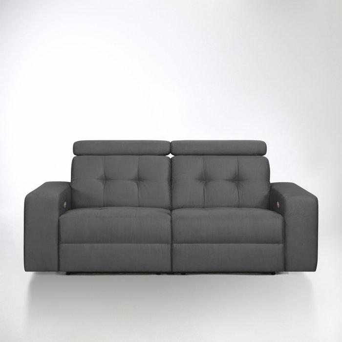 Image Canapé de relaxation électrique Julema en tissu microfibre La Redoute Interieurs