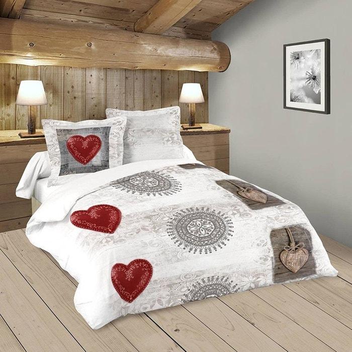 parure de lit woody 240 x 220 cm storex la redoute. Black Bedroom Furniture Sets. Home Design Ideas
