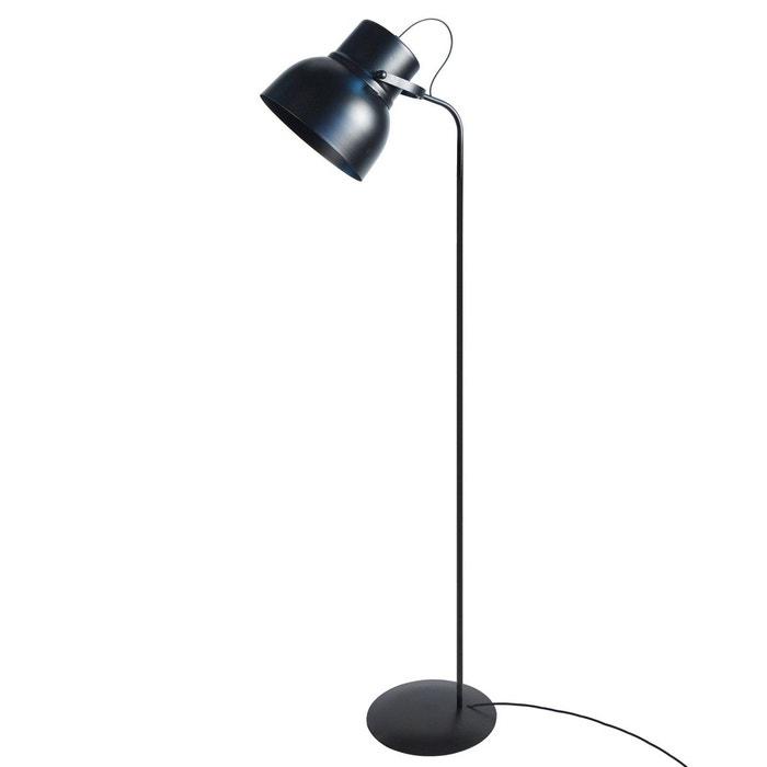 lampadaire design industriel cloche noir en m tal noir keria la redoute. Black Bedroom Furniture Sets. Home Design Ideas